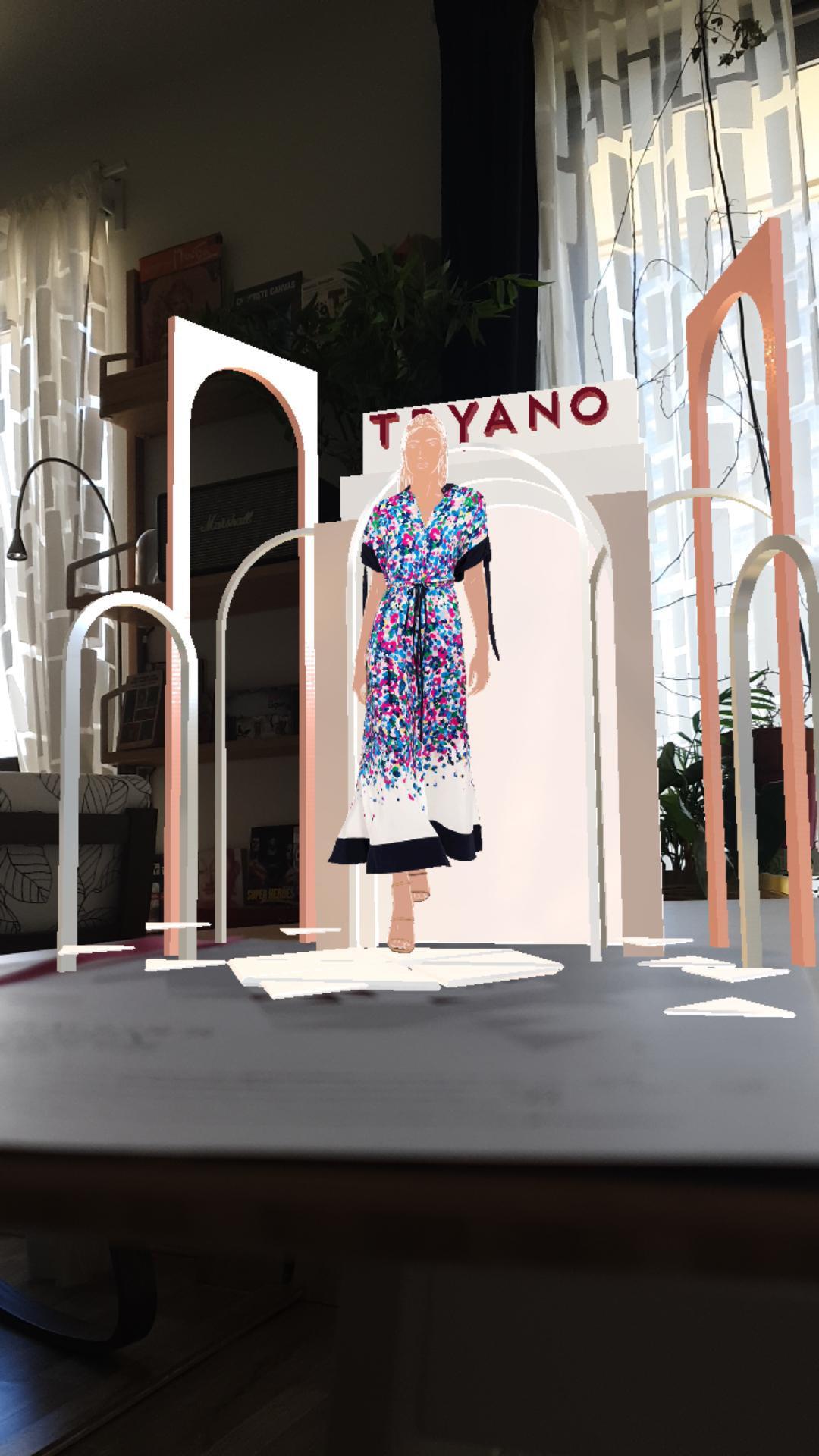#StudioMrWhite #animation #AR filter #fashion #Augmented Reality #motiongraphics #art #instagram #design #augmented #Reality #Filters #face filters #digitalart #motiondesign #creative #2D #Tryano # Chalhoub Group #Digital Marketing #virtual #promotion